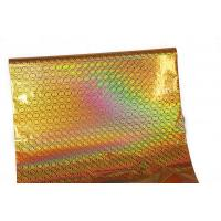 Quality Food Packing Gold Holographic Stamping Foil 12Micron Thickness for sale