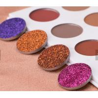 Quality Waterproof Glitter Eyeshadow Palette Mineral Ingredient Suit For All Skin for sale
