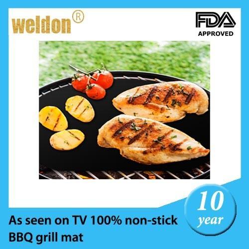Non stick reusable bbq grill mats as seen on tv baking