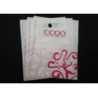 Quality Clothing Store Die Cut Handle Plastic Bags Waterproof 100% Recyclable Material for sale