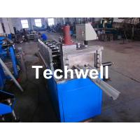 Quality Metal Stud Roll Forming Machine With Hydraulic Cutting For Making Furring Channel / Roof Ceiling Batten for sale