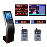 Quality Custom design bank service counter led number Queue Ticket Management Display Token Number Kiosk System for sale