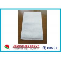 Quality Disposable Medical Wet Wash Glove White Color For Hospital / Home Care for sale