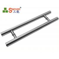 China ASTM Stainless Steel Pull Handle Tempered Glass Door Handle 304 Material on sale