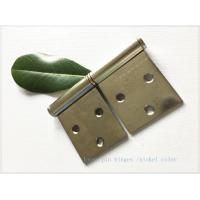 Quality Detachable Brass Lift Off Hinges , Barrel Lift Off Shutter Hinges  Nickel Plated for sale