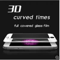Anti Shock Explosion Proof Cell Phone Screen Protector 3D 9H Tempered Glass For IPhone 6 / 6s