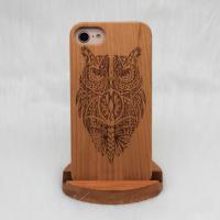 China Natural Wood iPhone Case Apple iPhone 7 / 7 Plus Model N / A Certificated on sale