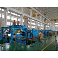 Quality Heavy Duty Stainless Steel Coil Cut To Length Machine Electric Control System for sale