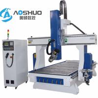 China Servo Motor 1325 Cnc Router Machine , 4 Axis Engraving Machine 1300*2500*200mm on sale