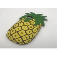 China 3D Cartoon Fruit Summer Pineapple Phone Case For IPhone 8 Soft Silicone Cover for sale