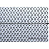 20mm Galvanized Welded Wire Mesh Belt Spiral Woven LightWeight For Drying Oven