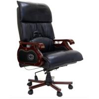 China Genuine Leather Executve China Office Massage Chair on sale