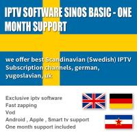 Quality Subscription 1000 Exclusive Software  Live / VOD 1 Month , Android  / IOS IPTV Box Sweden for sale