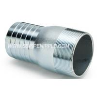 Quality Durable KC Nipple Galvanized Steel Hose Coupling Fluid Applications for sale