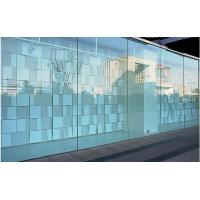 Commercial tempered decorative glass wall panels curved for Decorative tempered glass panels