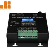 Quality DC12-24V Dmx Light Controller / Dmx512 Led Controller 10A / CH X 4 Channels Output for sale