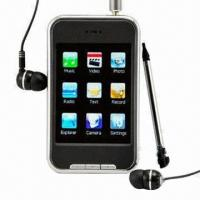 4-inch MP5 Game Player with Remote Control/FM Radio/3-year Warranty/CE Mark/Sisvel License Approved