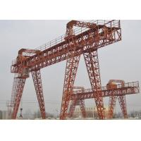 China MG Trussed Type Portal Crane Electric Hoist Double Girder For Highway on sale