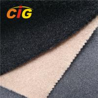 Buy cheap Colorful 100% Polyester Carpet of Automotive Upholstery Material, with Much from wholesalers