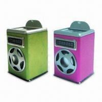 Quality Mini Speaker with FM Radio and Built-in 1,000mA Lithium Battery for sale