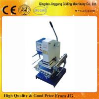 Quality TJ-30 Manual High Pressure Hot Foil Stamping Machine For Leather Logo Printing for sale