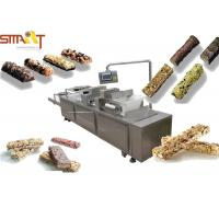 Quality Automatic Slab Forming / Cereal Bar Forming Machine For Food Bar Production for sale