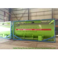 Quality 20Feet HCL Acid ISO Tank Container For Shipping UN1789 Steel Lined PE 16mm for sale