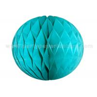 Customized Colorful Round Paper Honeycomb Balls 6-18 inch 100% handmade