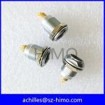 Metal 9 pin female receptacle socket EGG equivalent to Lemo