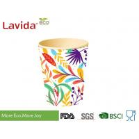 Buy cheap Wearable Recycled Bamboo Fiber Cup Bright Color Smelless Non - Toxic BPA Free from wholesalers