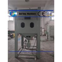 Quality Large Volume Output Pressure Blast Cabinet With Heavy Duty Mixing Valves for sale