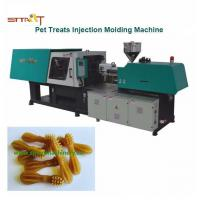 Quality Pet Treats / Dog Chewing Automatic Injection Moulding Machine With Servo Motor for sale