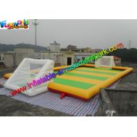 China Sewed Inflatable Sports Games Soapy Football Field 20m X 10m on sale