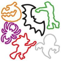 Quality Halloween series silly bands for sale