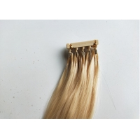 Buy cheap Factory price sale 50g #613 color 18 inch 6D human hair extensions from wholesalers