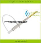 Quality DIN zirconia ferrule SM Fiber Optic Patch Cord ≤0.3dB IL, ≥50dB RL for sale