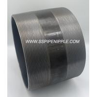 Quality Chemical Industry  Black Pipe Nipple Schedule 40 Carbon Steel Pipe for sale