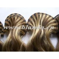 Quality Hand Tied Weft Hair of European Remy Hair for sale
