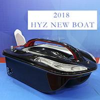Quality 2018 Trimaran fast speed 1-2m/s New Remote Control Bait Boat for Fishing for sale