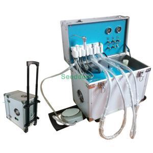 Quality Portable Dental Unit with Air Compressor & Storage Tanks / Dental Equipment SE-Q037 for sale