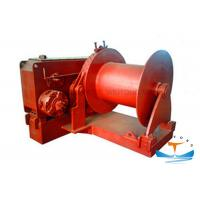Buy Hydraulic Marine Electric Winch High Mechanical Efficiency For Engineering at wholesale prices