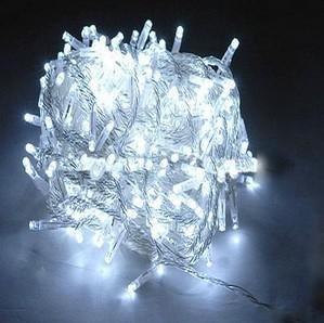 10m 100LED White Flashing effect LED string lights
