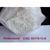 Quality Pirfenidone Pharmaceutical Raw Materials , Anti Inflammatory Powder Supplements  for sale