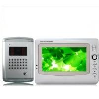 Quality Multi-apartments CCD / CMOS Video Unlock Hand Free Color TFT LCD Intercom Door Entry Phone for sale
