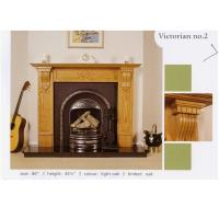 China Solid Wood Fireplace Mantel (ST-01) on sale