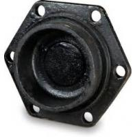 Quality Mechanical Joint Cast Iron Pipe Fittings Short Body Tapped Cap Solid Plug for sale