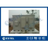Buy 3 Compartments Outdoor Integrated Base Station Cabinet For Installation Equipment And Battery at wholesale prices