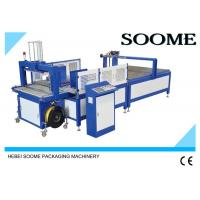 Quality Fully Automatic Carton Box Strapping Machine / PP Belt Manual Pallet Strapping Machine for sale