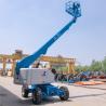 Buy cheap Street Lamp Repairing Telescopic Boom Manlift Fourteen Meters Diesel Motorized from wholesalers