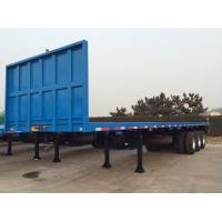 Quality 40 Feet-3 Axles-Front Gantry-Flat Bed Semi-Trailer for sale